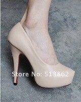 дамы новое поступление женская мода 14 см сексуальные туфли на каблуках платье туфли женщин / девушек черные туфли / размер : 35 - 40
