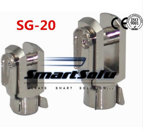 Free Shipping 5pcs/lots SG-20 M8X1.25 ISO6431 cylinder attachment, Y type joint, U joints, Y free shipping 5pcs lots sg 160 200 iso6431 cylinder attachment y type joint u joints y
