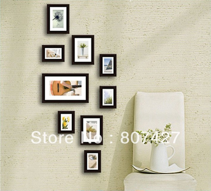 Pine wood Frame Wall For Household Decorate 901-in Frame from Home ...