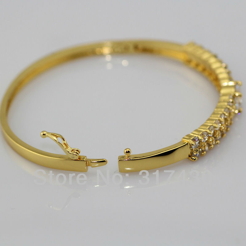 bracelet bangle solid yellow gold polished bangles clasp with collections hinged large