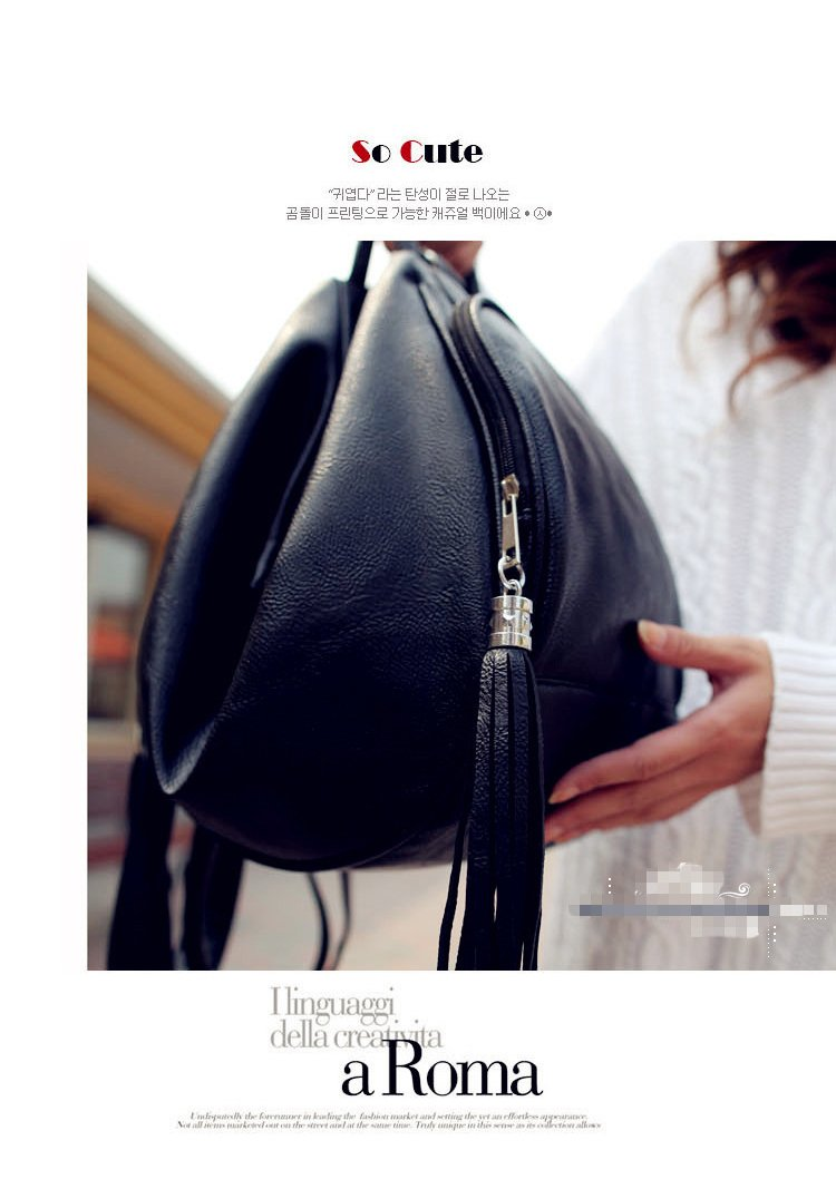 df5a32bbc5da Fashion leather backpack women can also make Kids school bag and shoulder  bags