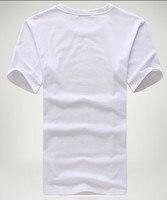 принт нет поплин в мелкий рубчик очки печать с круглым вырезом дизайн короткий рукав хлопок мужчины в футболки одежда