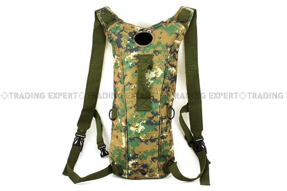 Гидратационный рюкзак тканевый резервуар для воды Велоспорт армии США гидратация воды рюкзак сумка-резервуар