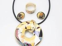 бесплатная доставка! египет на старинные тза комплект ювелирных изделий, 1 комп./СКП