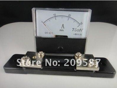 Аналоговый усилитель Панель Meter Текущий амперметр постоянного тока 0-30a+ шунт