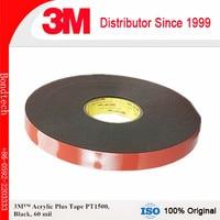 3M Acrylic Plus Tape PT1500 , Black, 60 mil, 10mm x 36 yd