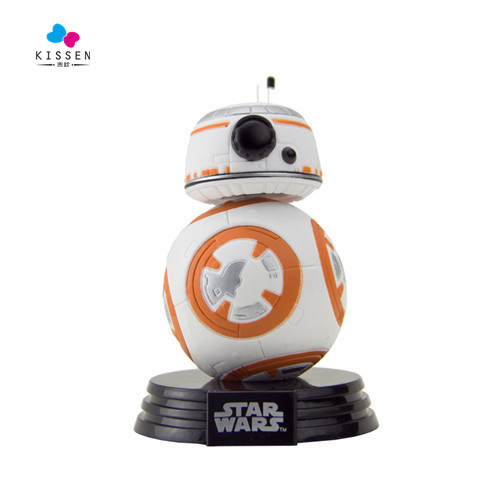 Kissen Star Wars The Force Awakens BB8 BB-8 Droid Robot PVC Action Figure with от Aliexpress INT