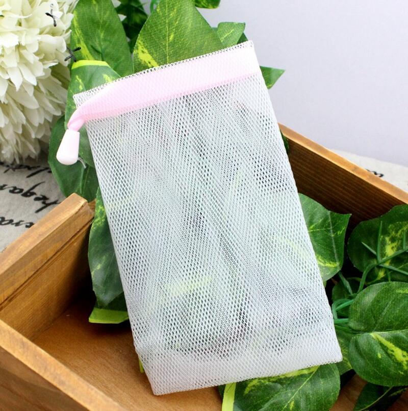 The Green Soap Bubble Foam Net Antibacterial Wash Delicate Net Yarn Net Cleansing Bubble .FH-10236