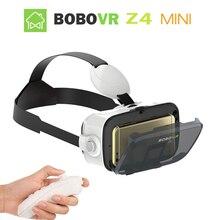 Original BOBOVR Z4 mini Virtual Reality 3D Glasses google Cardboard VR box 2.0 BOBO VR headset For All 4.0-6.0 inch smartphone