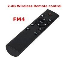 Envío de la NUEVA KODI FM4 fly Air Ratón Del Teclado Inalámbrico para FM4 para Android TV BOX MX4 MXV MAG250 TV vía satélite receptor, Control Remoto