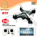 Minitudou 2016 FQ777 Zangão Quadricopter Mini Dron Com Câmera 0.3MP FQ777 954 VS Cheerson RC GYRO RTF Quadcopter FPV WI-FI CX-10W