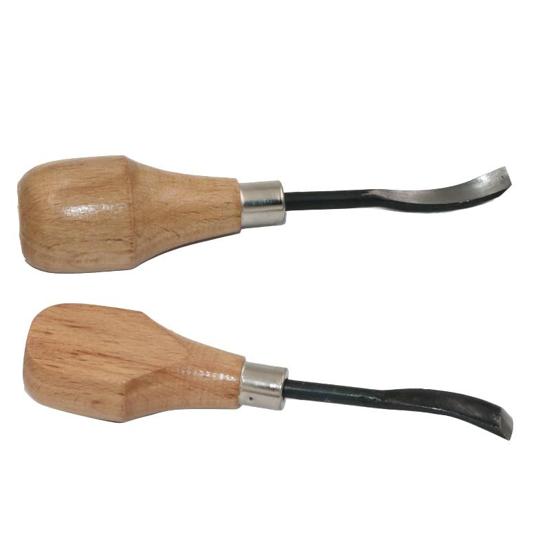 QSTEXPRESS 5бр / лот нож за дърворезба / ъгъл - Ръчни инструменти - Снимка 4