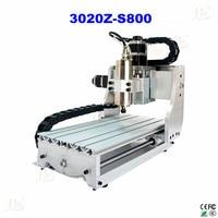 Russia Free Taxes Mini 3 Axis CNC 3020Z S800 Router Engraver Mini Cnc Milling Machine