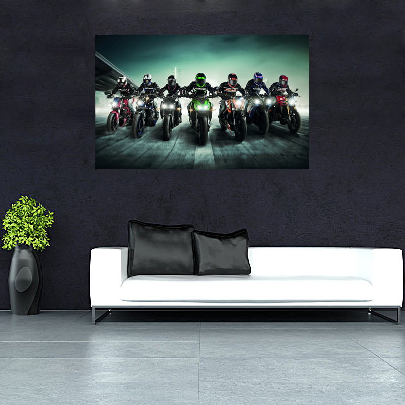 popular motorcycle wall murals buy cheap motorcycle wall