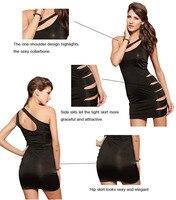 дорогая-любовник облегающее мини-платье сексуальная сторона вырезать платье черное с соответствующими стринги lc2521 дешевое цена