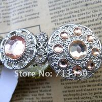розовый полудрагоценных камней инкрустированных / мода шик красивый браслет / браслет