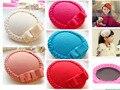 6 unids/lote hermosa Mini Top Hat niños cabello chica moda partido Fedora Bowknot sombrero tocado del cabrito de la boda nupcial Hearwear