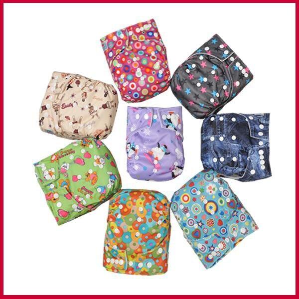Babyland Детские пеленки ткань смесь цветов 25 шт. с 25 шт. микрофибры вставками