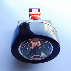 10pcs/lot 3W Led Black Waterproof Miner Light Powerful Cob Safety Helmet Headlamp for Mining KL2.8LM