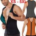 5XL Plus Size corset cintura para homens sexy Colete Top suor trainer cintura com zíper cintura cincher sauna terno shaper corpo quente M04