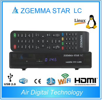 20pcs/lot 2019 New product Zgemma star LC DVB-C Linux Enigma 2 Linux HD Digital Receiver PVR Ready