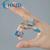 Férula de aluminio Dedo Ortesis Caber Por Lesión en el Dedo O La Artritis Flexión Extensión de Recuperación de Ejercicios de Rehabilitación