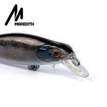 Meredith Lures Fishing 1pcs16g 105mm Suspending Minnow Fishing  Hard Artigicial Bait Goddess Maker wobblers Hooks  Carp Fishing
