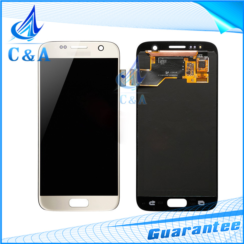5pcs/lot free DHL EMS shipping LCD screen display with touch digitizer assembly for Samsung Galaxy S7 G930A G930T G930P G930V 5 pieces lot free dhl ems shipping tested for samsung galaxy s6 edge lcd display sm g925 g9250 screen with touch digitizer