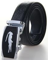 2016 Newest Men S Genuine Leather Belt Crocodile Grain Leather High Brand Luxury Men Belts Large