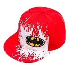 2017 new Snapback Caps Gorras Unisex Kids Hip-hop Snapback Batman Baseball Cap Children Adjustable Flat Hats