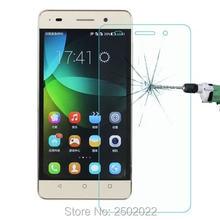 0.3mm Transparente Escudo 2.5D Anti-Scratch Filme Protetor de Tela De Vidro Temperado para Huawei G Jogar Mini Guarda pelicula de vidro