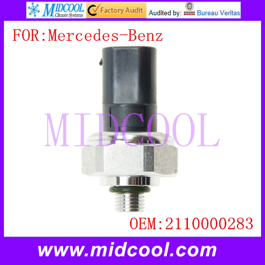 New A C Air Conditioning Pressure Sensor use OE No 2110000283 A2110000283 for Mercedes Benz