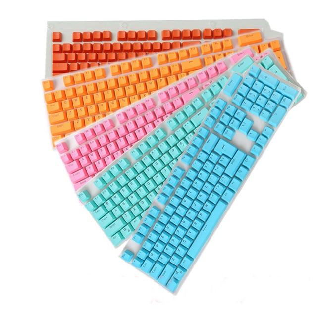 Русский/Английский Languag pbt ключ Кепки S различных Цвет выбор для Cherry MX Механическая клавиатура Ключ Кепки Настенные переключатели 108 ключей Кепки s