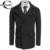 Coofandy hombres abrigo de invierno outwear turn down de manga larga sólido de lana chaquetón cruzado ee. uu. tamaño s/m/l/xl/xxl