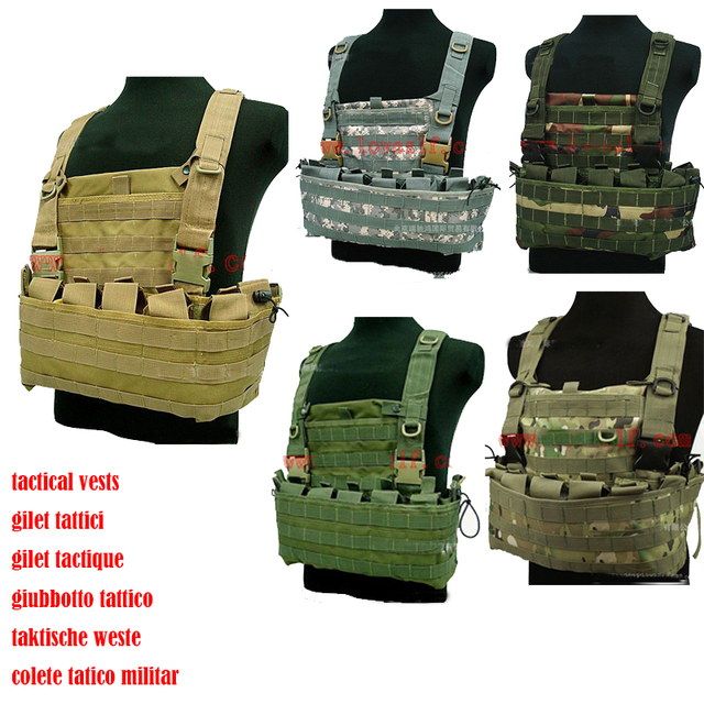 molle tactical vest Airsoft paintball games bulletproof vest Oxford cloth 600D army  military taktische weste gilet tactique