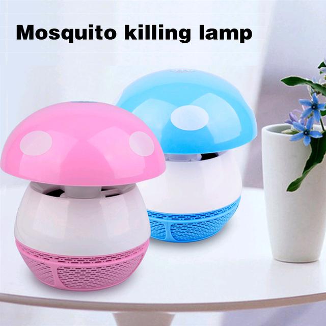 Lâmpada Mosquito fotocatalítico Inalador-Fly Assassino para Uso Interno-Bonito Night Light Ultra Silencioso USB/AC 110 V 220 V