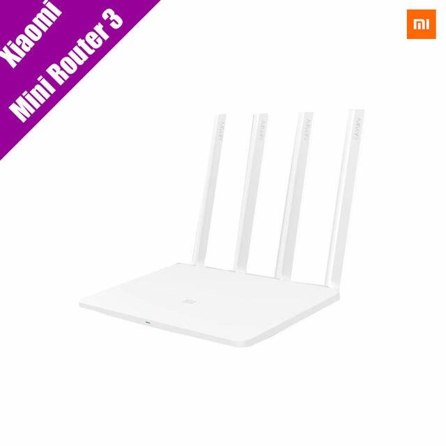 Original xiaomi wifi router3 128 m nand flash 4 design da antena wifi 11ac roteador de banda dupla 2.4g/5g 867 mbps usb com controle de aplicativo