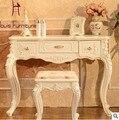 Estilo europeu madeira maciça moderno móveis multifuncionais escrita Console Console de mesa sala de estar