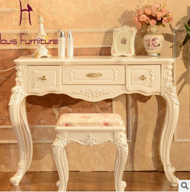 european style solid wood modern - Cheap Console Tables