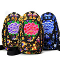 Vintage Embroidery Bag new national canvas embroidery Backpack embroidered single shoulder bag chest travel bag
