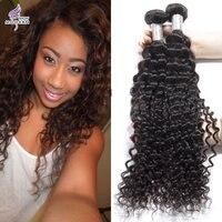 7A Brazilian Curly Virgin Hair 4 Bundles Queen Hair 100% Unprocessed Human Hair Cheap Brazilian Deep Wave Curly Virgin Hair