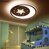Ultra Thin Star Moon Ceiling Lights Indoor Lighting Led Luminaria Abajur Modern Led Ceiling Lights