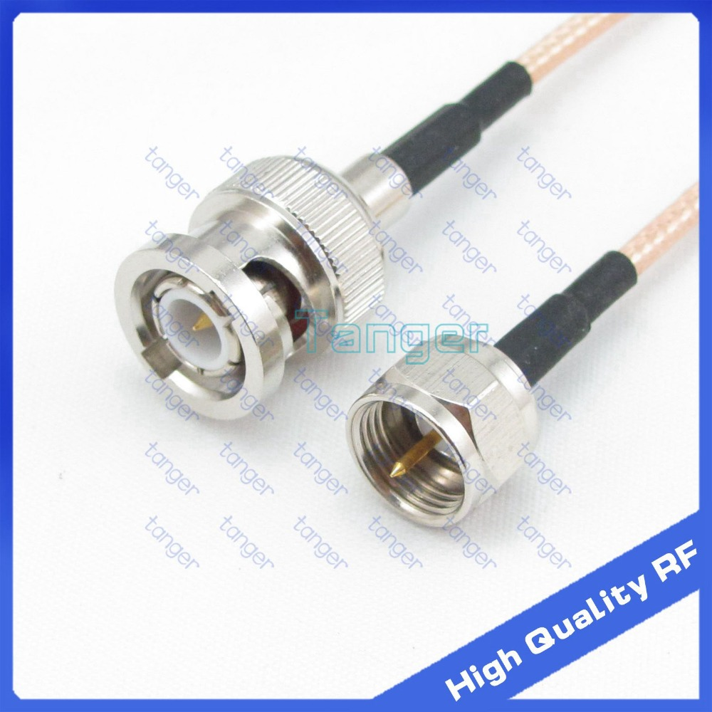 6inch F Male To Bnc Plug With Rg 316 Rf Coaxial Pigtail 12v Dc Power 21mm Cable Wire Connector Ebay Jumper 6 15cm Tanger High Quality Cables