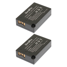 2PCS Camera Battery Pack LP-E17 1040mAh Rechargeable Battery For Canon EOS 750D 760D Kiss 8000D M3