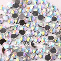 самый дешевый блестящий сс20 1440 шт. много кристалл AB плоская поверхность кристалл исправление горный хрусталь бусины камни аксессуар для одежды