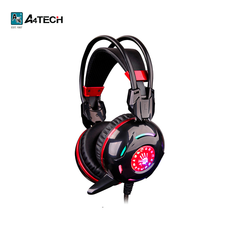 Gaming headset A4Tech Bloody G300 hl good quality original wireless headset bluetooth headphone headband headset with fm tf led indicators for iphone cell phone