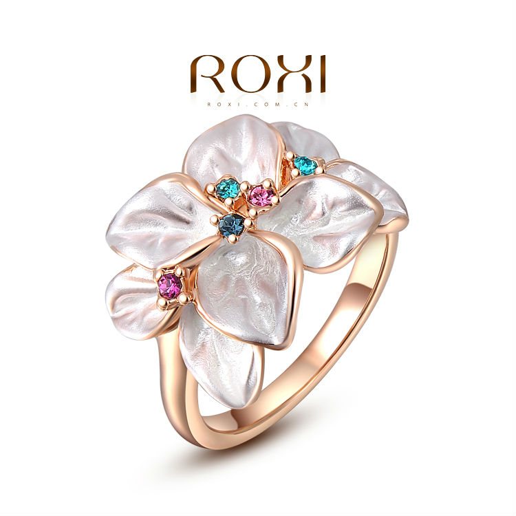 ROXI 2017 New Leaves Women Austrian Crystal Jewelry Sets Ring ...