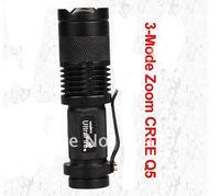 свет 700lm кри фонарик масштабируемые 7 вт кри Q5 из светодиодов 1 шт. бесплатная доставка