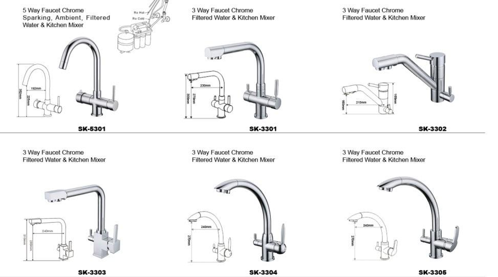 Newest German Popular Brass Drinking Water Tap kitchen Faucet Fedex ...
