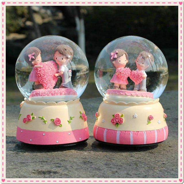 Thanksgiving Day Constellation Large Crystal Ball Music Box Birthday Gift Teachers Free Shipping